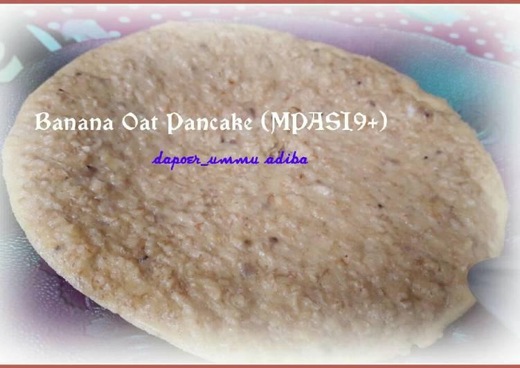 Banana Oat Pancake (MPASI9+)