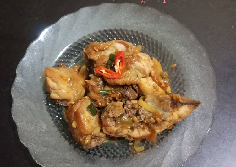 Ayam Kecap Saus Tiram