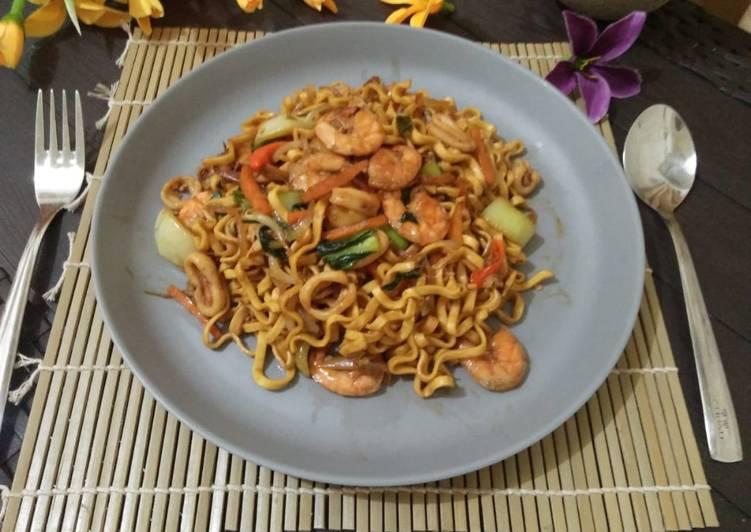 Resep Mie Goreng Seafood Makanan Enak Mengenyangkan Dan Yang Pasti Semua Suka
