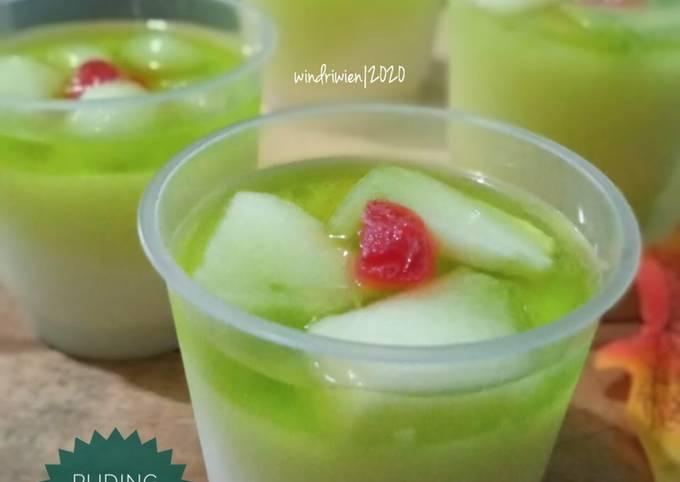 Puding Susu Melon Segaarr