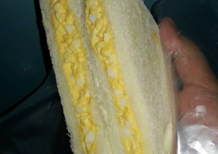 Resep Japanese Egg Sandwich Paling Enak