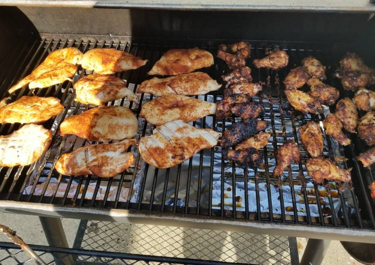 Simple Way to Make Award-winning Smoked Chicken Wings