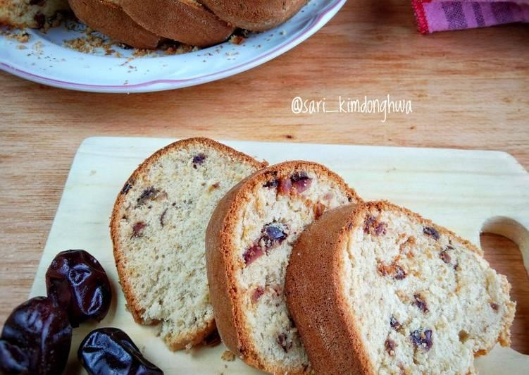 Bolu Kurma / kurma Cake (Metode All In One)