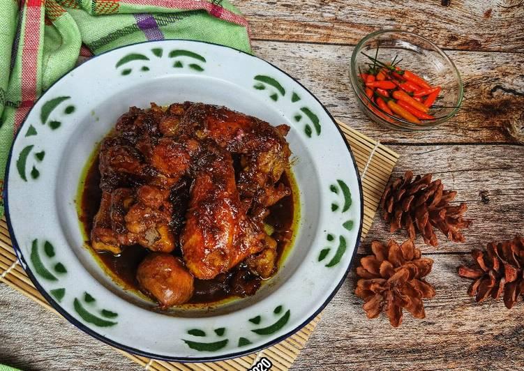 Ayam Kecap khas Padang