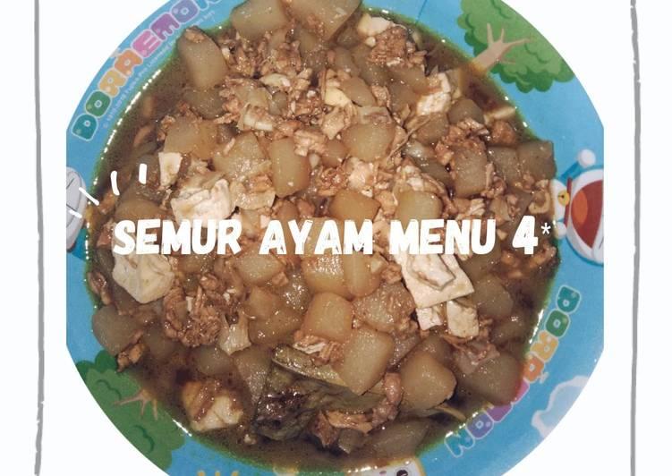 Semur Ayam Mpasi 9mo+