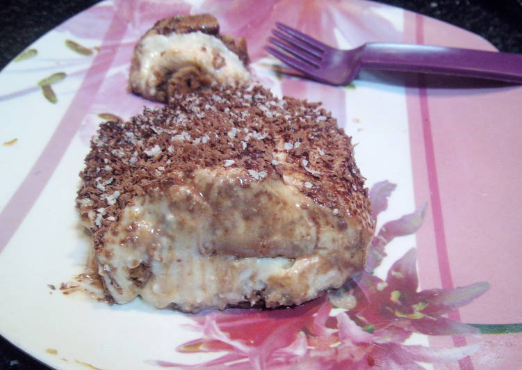 How to Make Ultimate Homemade Smoothie Chocolaty Tiramisu