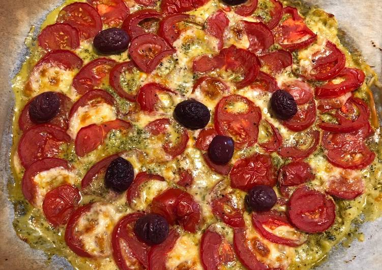 Recette: Délicieux Tarte tomate-mozzarella