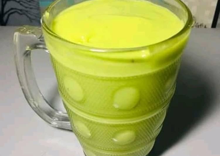 Alvocado yoghurt