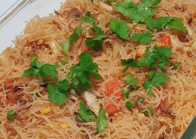 Simple Way to Make Favorite Seafood Vermicelli Noodles
