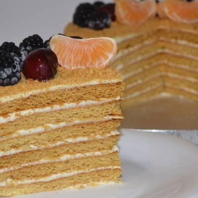 торт суфле медовик рецепт с фото новости скрывает сама
