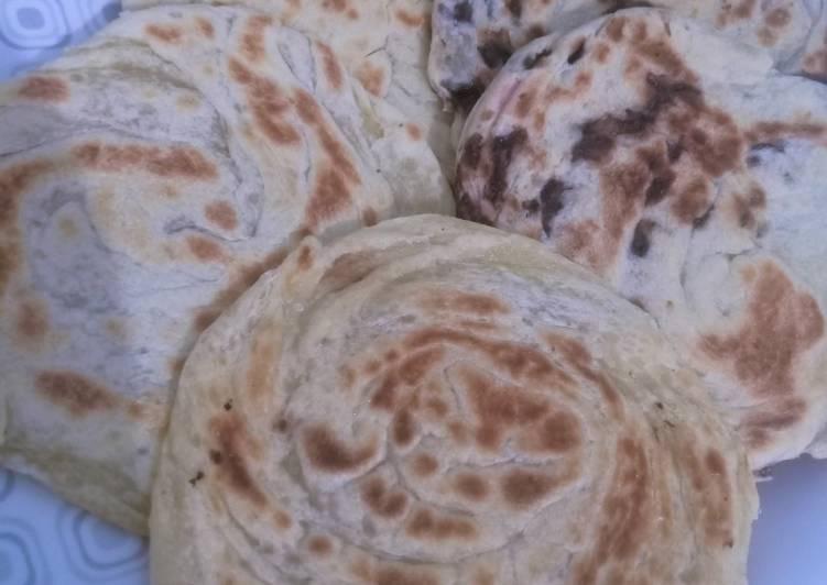 Resep Roti Maryam / Canai bunda pasti bisa
