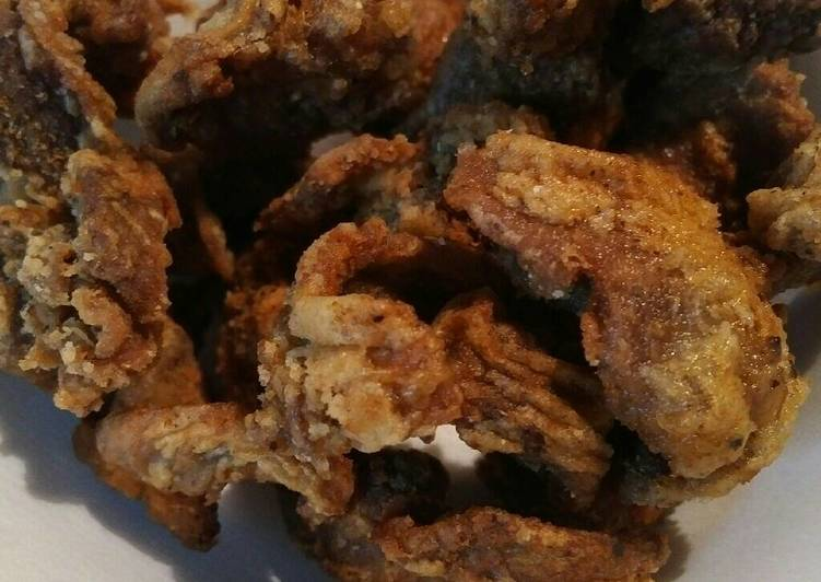 Fried Chicken Gizzards a Southern Favorite