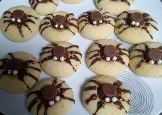 Cookies araignées 🕷️