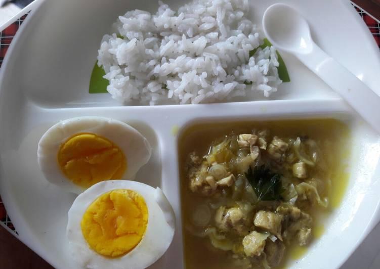 Resep Soto Ayam Kubis Mpasi 9 Bulan Ala Chef