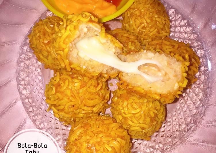 Bola-Bola Tahu Rambutan Mozzarella