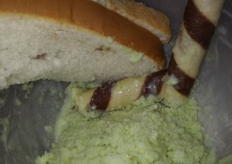 Es krim kacang hijau