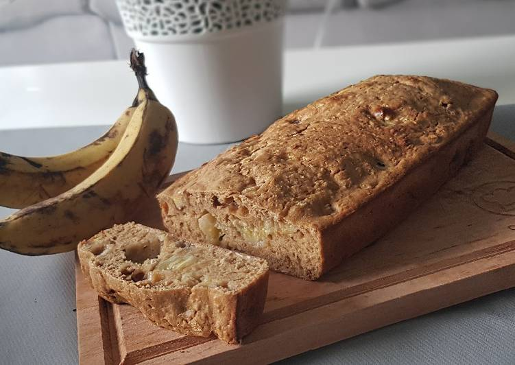 How to Prepare Delicious 42• 🍌Banana Bread «Healthy» aux flocons d'avoine 🍞