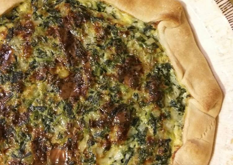 How to Make Delicious Cottage Spinach Pie