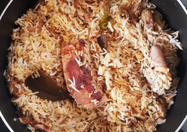 How to Cook Delicious Chicken Biryani (My style)