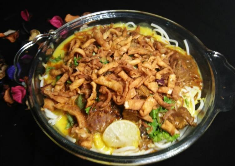Burmi Curry Khosuay💖💖 Choosing Fast Food That's Very good For You