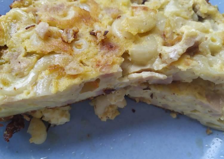 Resep Omelette Sosis Macaroni Bikin Laper