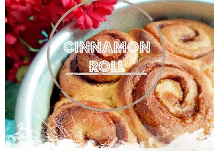 Cinnamon Roll Praktis dan Sederhana