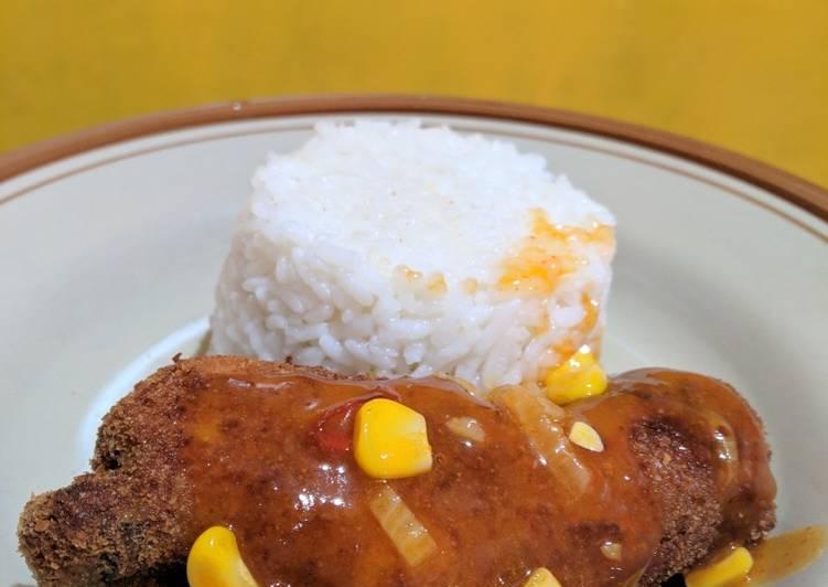 Resep Ayam Pop ala kantin Nasa Polban yang sederhana
