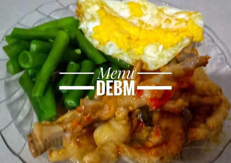 Cara membuat Menu dinner DEBM #debm #dietdebm #menudebm