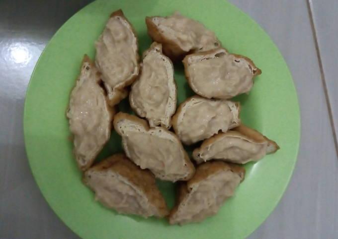 Tahu Bakso Ayam (eksperimen 1)