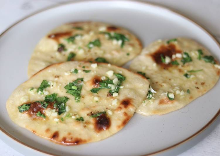 Simple Garlic Naan Bread Recipe By Yui Miles Cookpad
