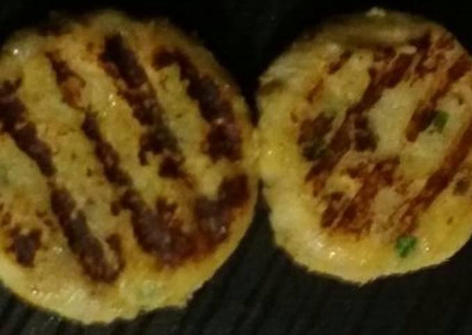 Potato Grilled Tikki