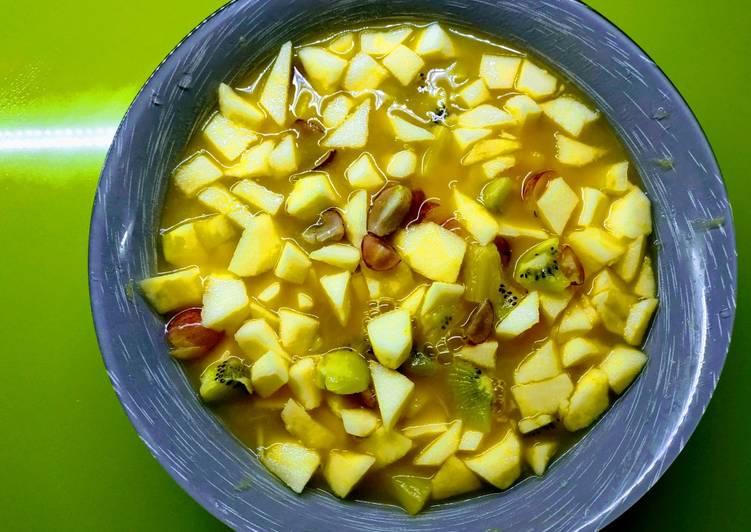 Macedonia de frutas 🍎🥝🍊🍇