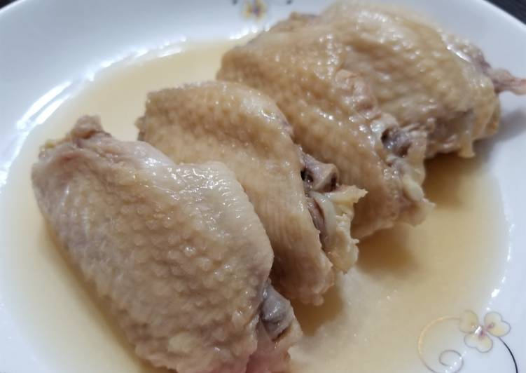 Chinese Cold Drunken Chicken Wings 醉雞翼
