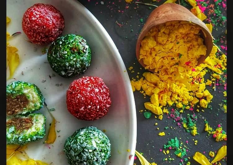 Recipe: Delicious Thandai stuffed Paneer Ball sweet