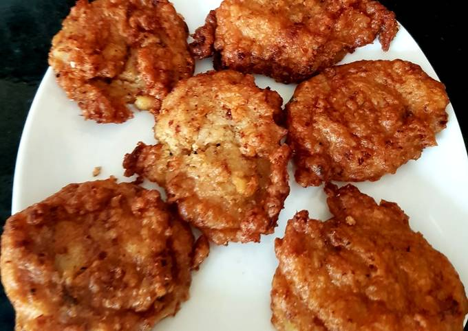 Battered Corned Beef Fritters