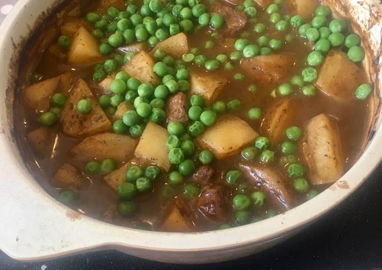 Minted Lamb & Potato Budget Stew