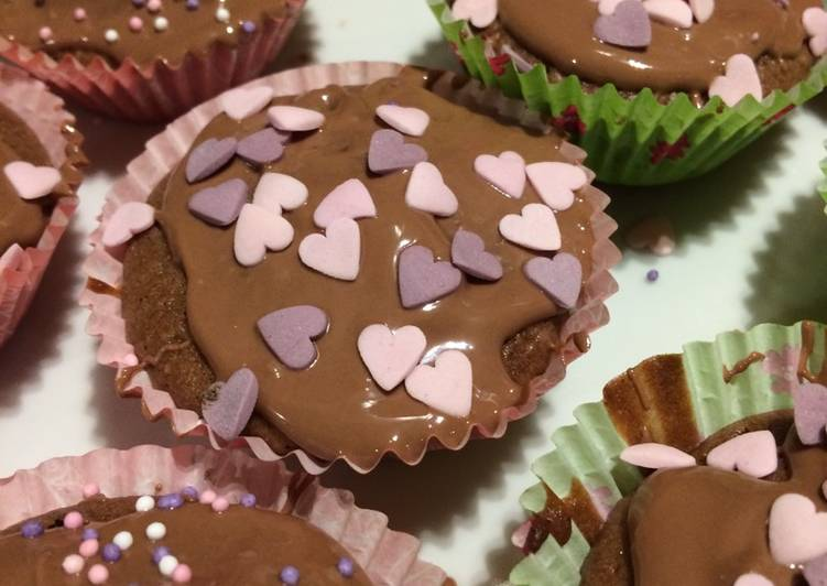 Steps to Prepare Super Quick Homemade Easy cupcakes