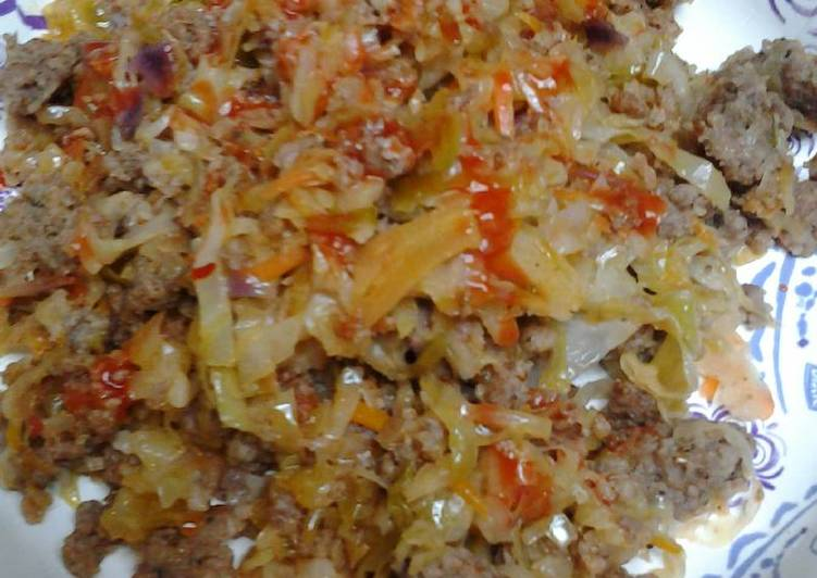 Recipe of Homemade Sausage and slaw
