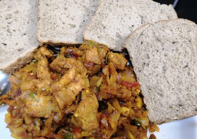 Recipe of fried multi grain bread