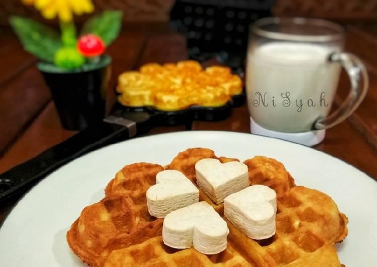 Resep Simple Waffle 🧇 Bikin Ngiler
