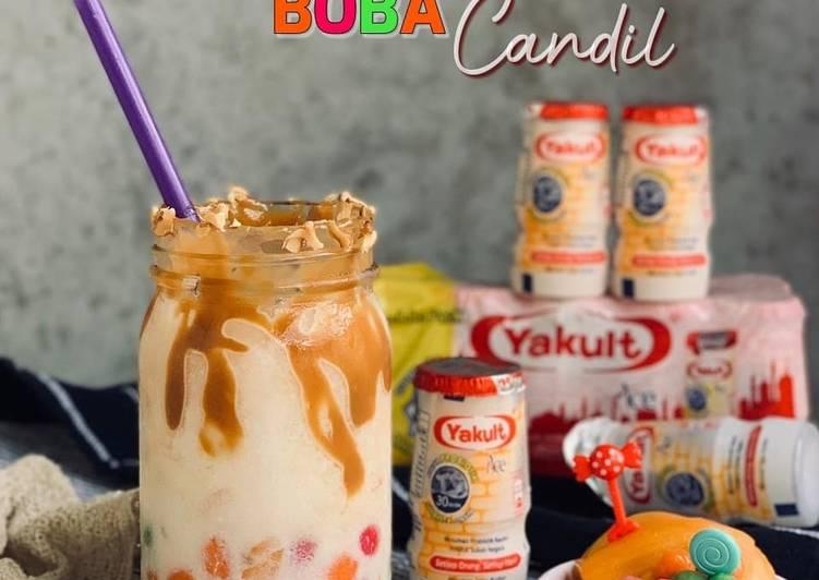 Caramel Yakult Boba Candil - resepipouler.com