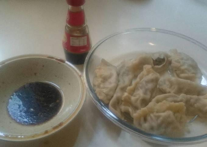 Asian Dumplings, boiled