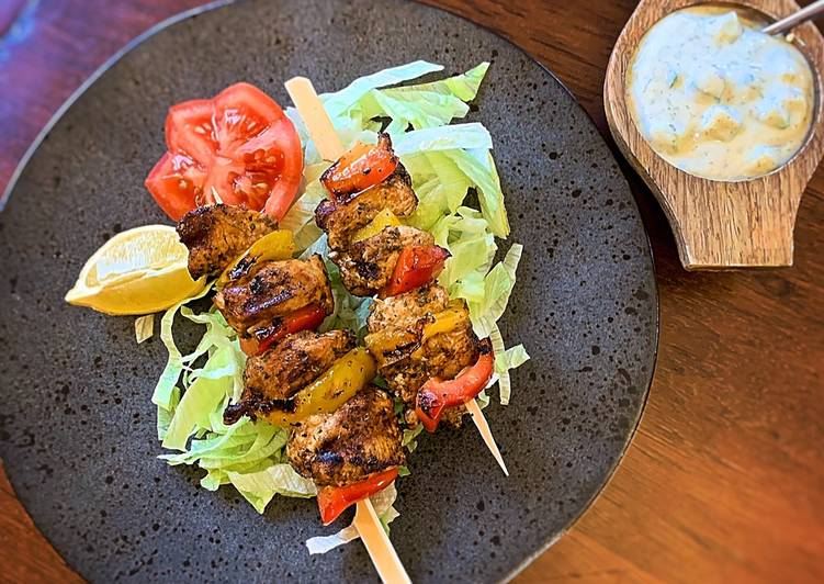 The Best Dinner Easy Speedy Chicken Souvlaki