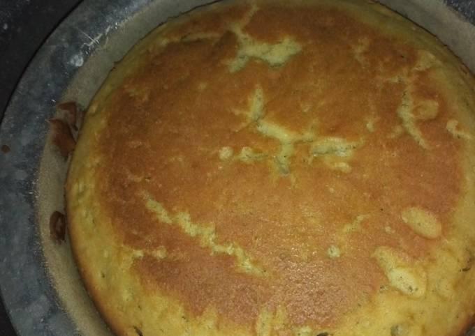 Lemon cake without oven #4weekchallenge #wheatflourcontest
