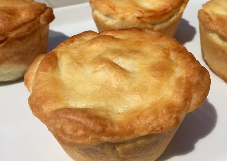 Recipe of Homemade Individual Mushroom Picnic Pies