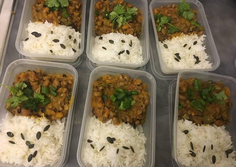 Ethiopian black eyed beans stew (vegan)