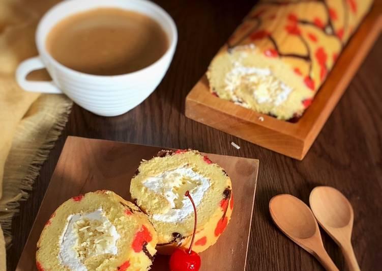 cara memasak Jelita roll cake - Sajian Dapur Bunda