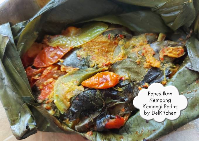 Pepes Ikan Kembung Kemangi Pedas