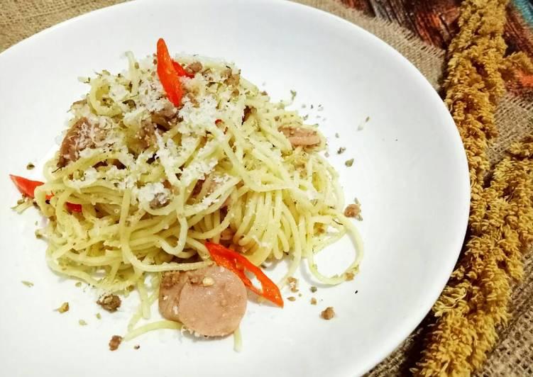 Spageti aglio olio