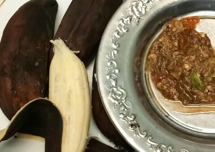 Cara Membuat Pisang Kepok Panggang Eat Clean Nikmat Resep Us